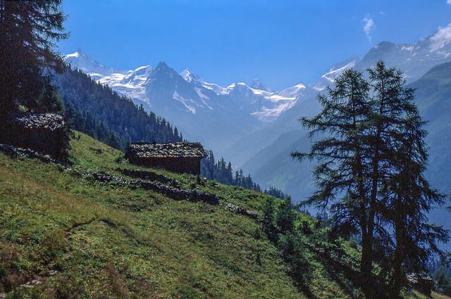 Les Moyes et les Alpes Valaisannes