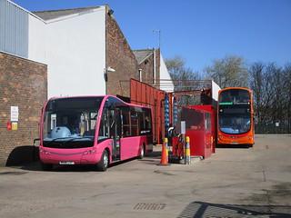 Go North East 690 & 6098. 'The Works', Saltmeadows Road Depot. Gateshead