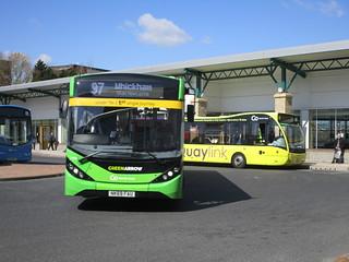 Go North East 5498 & 8334. Gateshead Interchange