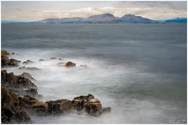 Isle's of Eigg and Rum with Skye in the distance