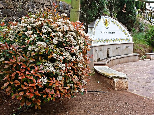 Fuente de los jardines de la calle València - Nàquera - València
