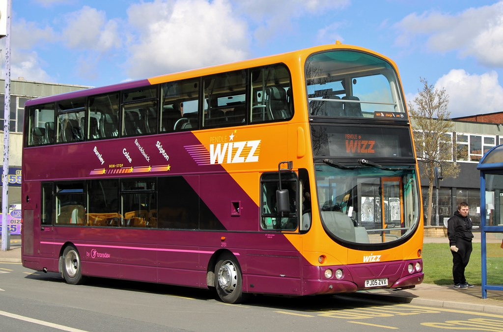 The Burnley Bus Company: 2751 / PJ05 ZVX