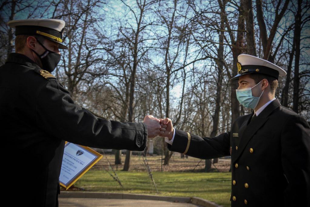 Apbalvojumi Jūras spēku Patruļkuģu eskadras un Mīnu kuģu eskadras personālam