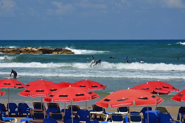 Surfing in Tel Aviv - Jaffa