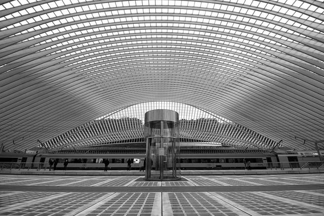 Gare des Guillemins (Liège 2021)