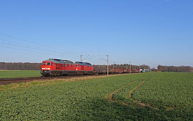 DB Cargo 232 669-2 + 233 511-5 - Sierße