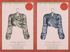 KiB Designs - Qiana Sweater @Golden Days 14th April