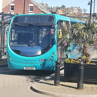 Arriva North East | 1561 seen at Whitby bus station whilst working on a x4 to Loftusfor Middlesbrough