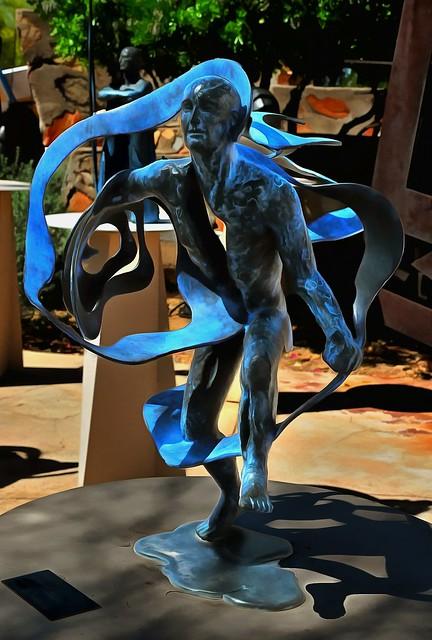 Sculpture - Alchemy by Heloise Crista - Taliesin West - Scottsdale Arizona