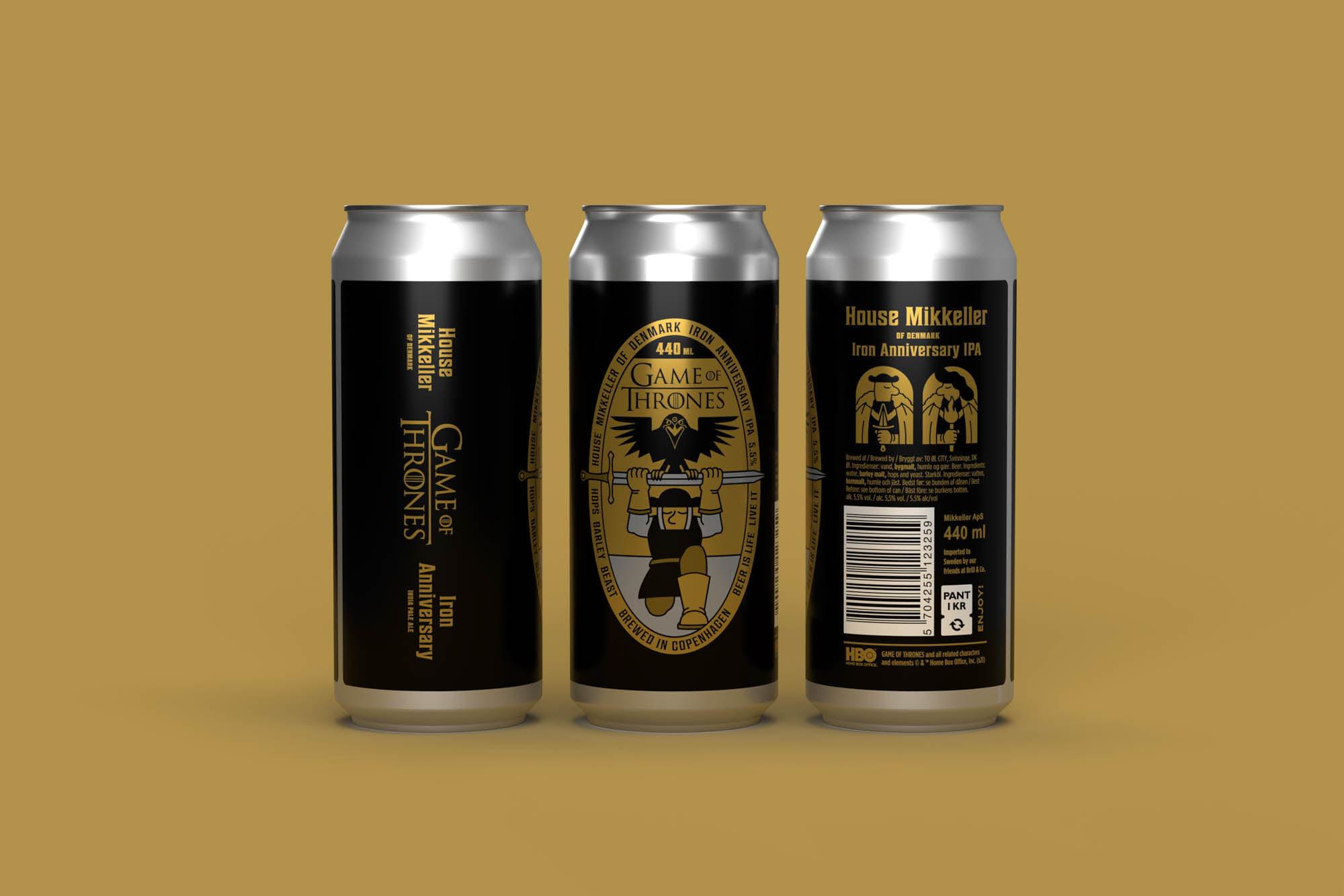 Mikkeller выпустит пиво к десятилетию «Игры престолов»