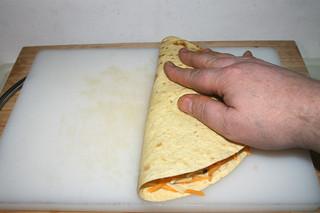 33 - Close tortilla / Tortilla zuklappen