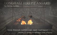 Longhall Firepit Asgard PIC