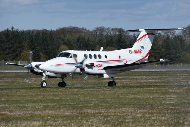 G-NIAB Beech 200C Super King Air