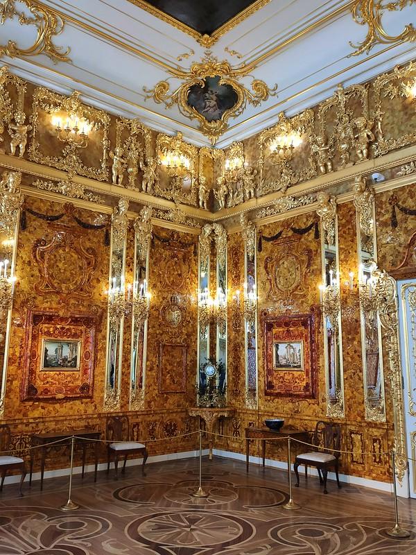 Большой Екатерининский дворец - Янтарная комната