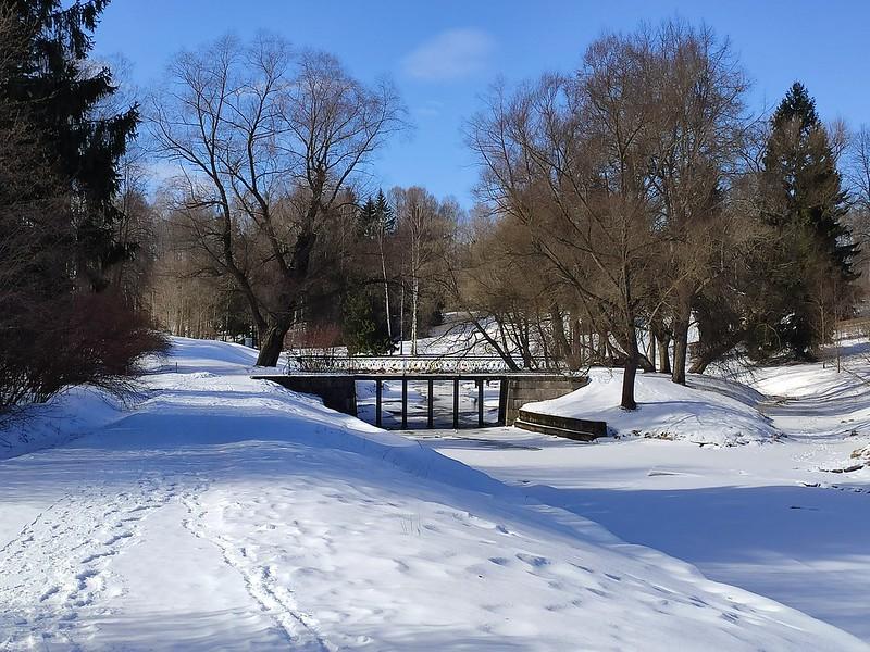Мостик в Павловском парке