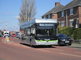 Go North East 8808. Rawling Road/Saltwell Road. Gateshead