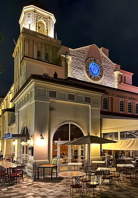 The Harriet Himmel Theater, 700 S Rosemary Avenue, West Palm Beach, Florida, USA / Built: 1926 / Built By: Walker Brothers / Architect: Spencer and Phillips / Floors: 3 / Architectural Style: Spanish Colonial Revival