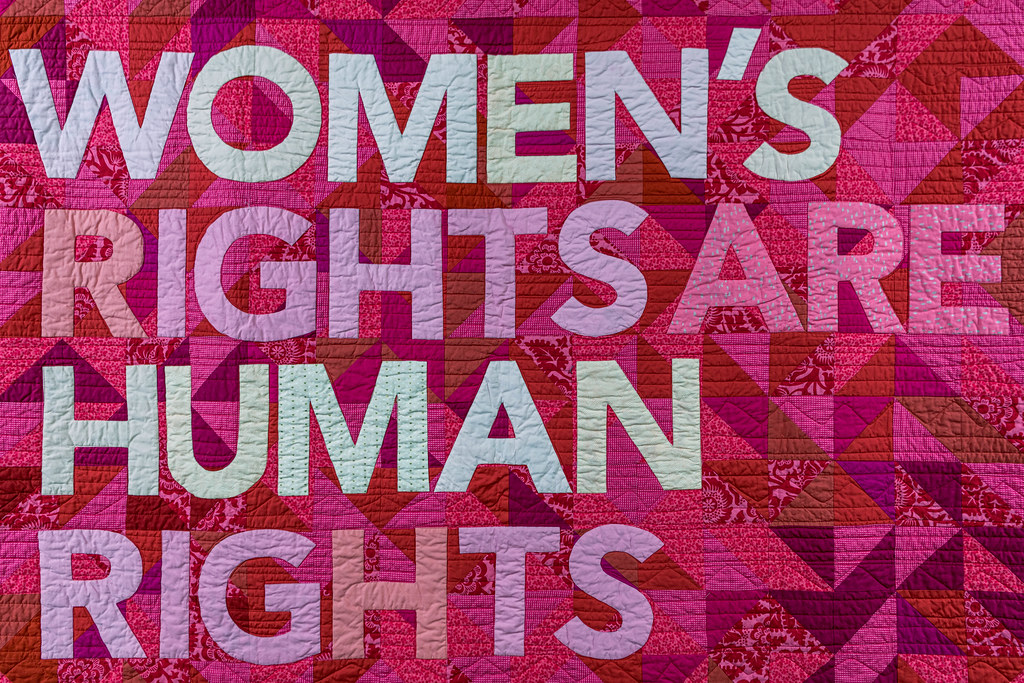 Women's rights quilt