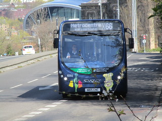 Go North East 5393. West Central Route, Gateshead