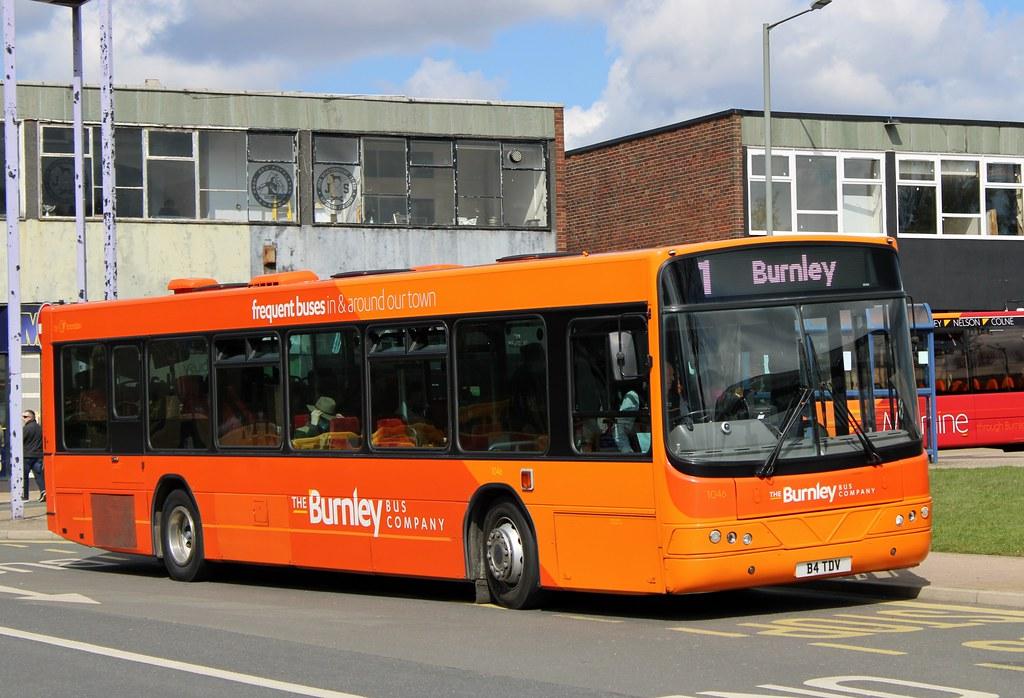The Burnley Bus Company: 1046 / B4 TDV