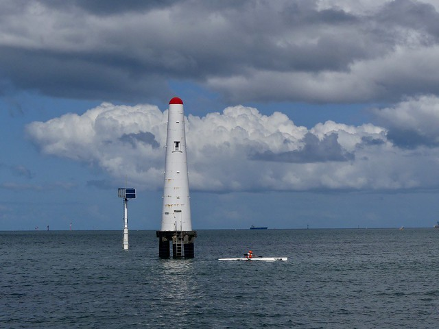 Port Melbourne Channel Front Light.