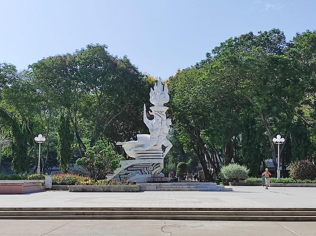 Le Van Tam Park, Hochiminh, Vietnam