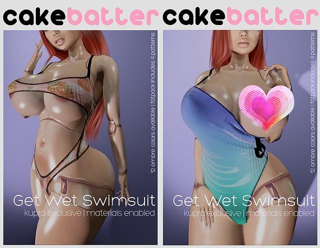 get wet swimsuit @ INITHIUM EVENT!!