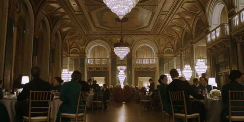 Banquet scene Fairmont Royal