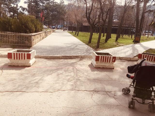 Spre final de renovare bulevardul Moscova din mun. Chișinău a primit notă pentru accesibilitatea pietonală