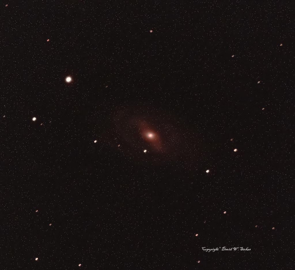 Messier 109 -- Barred Spiral Galaxy in Ursa Major