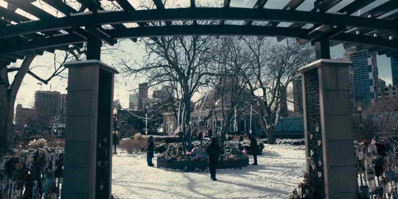 Memorial park Allan Gardens