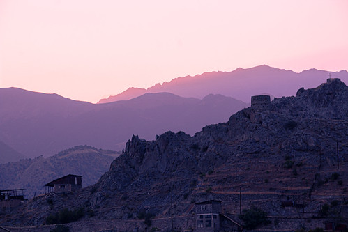 An old Soviet watch tower over the town of Meghri. Madeline Marquardt: #VolunteerAbroadBecause You'll Make Meaningful Connections
