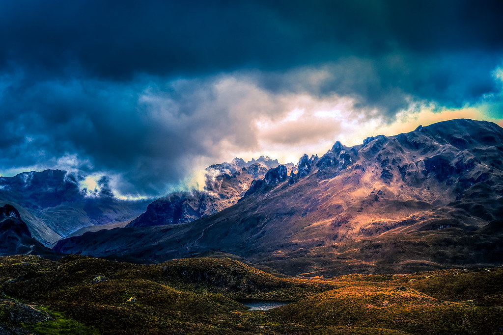 ***A Hike Through the Andes