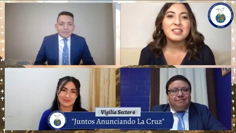 """Servicio de Vigilia Sector 6 """"Juntos Anunciando la Cruz"""""""