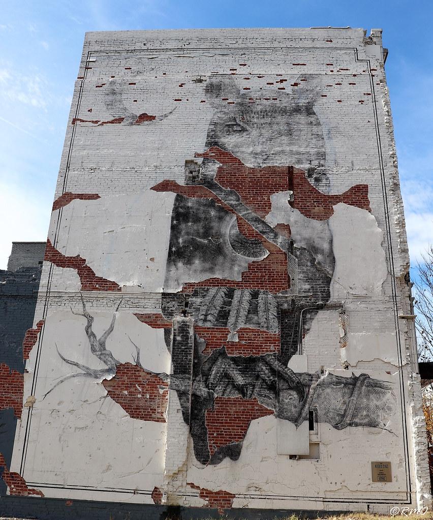 Battered Mural