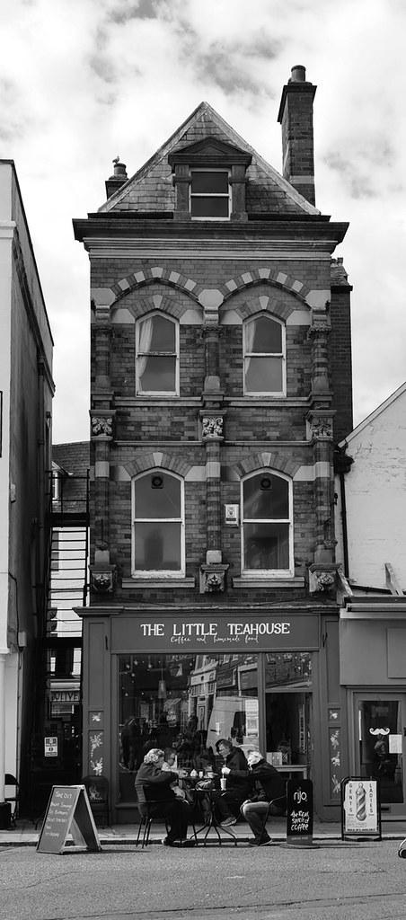 The Little Tea House, Market Square, Newark.