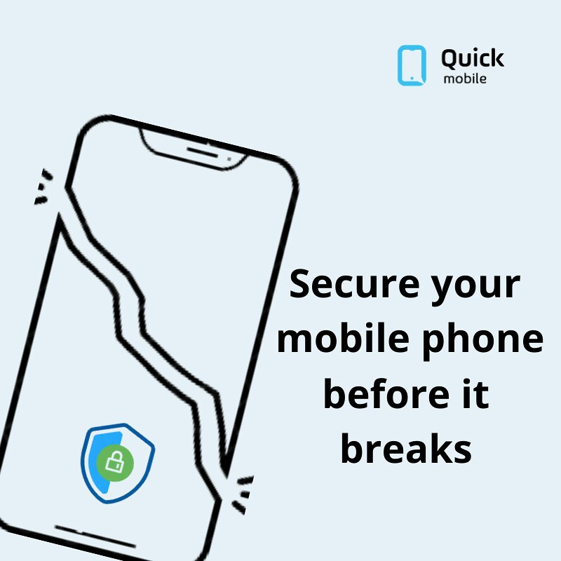 SECURE YOUR MOBILE PHONE BEFORE IT BREAKS
