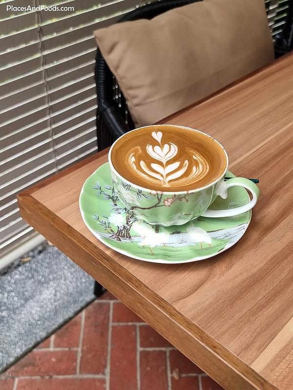 princeps bistro bukit tunku coffee latte