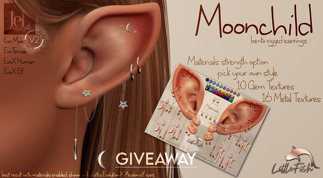 ~LF~ Moonchild Earrings 24hr Giveaway **CLOSED**