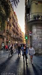Barcelona. Calle Talleres.