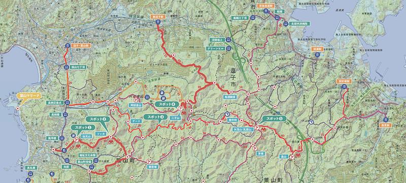 三浦アルプス地図
