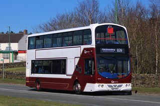 Go North East 9058 / SN57 DFU
