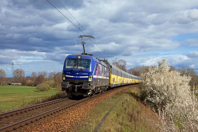 RTB Cargo 193 565 + ARS Altmann goederentrein/Güterzug/freight train   - Golm