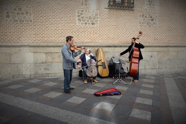 Música en la calle -  Madrid