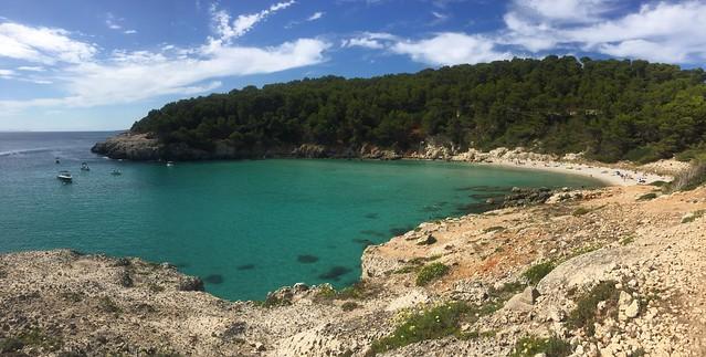 Cala Trebaluger, Menorca 2020