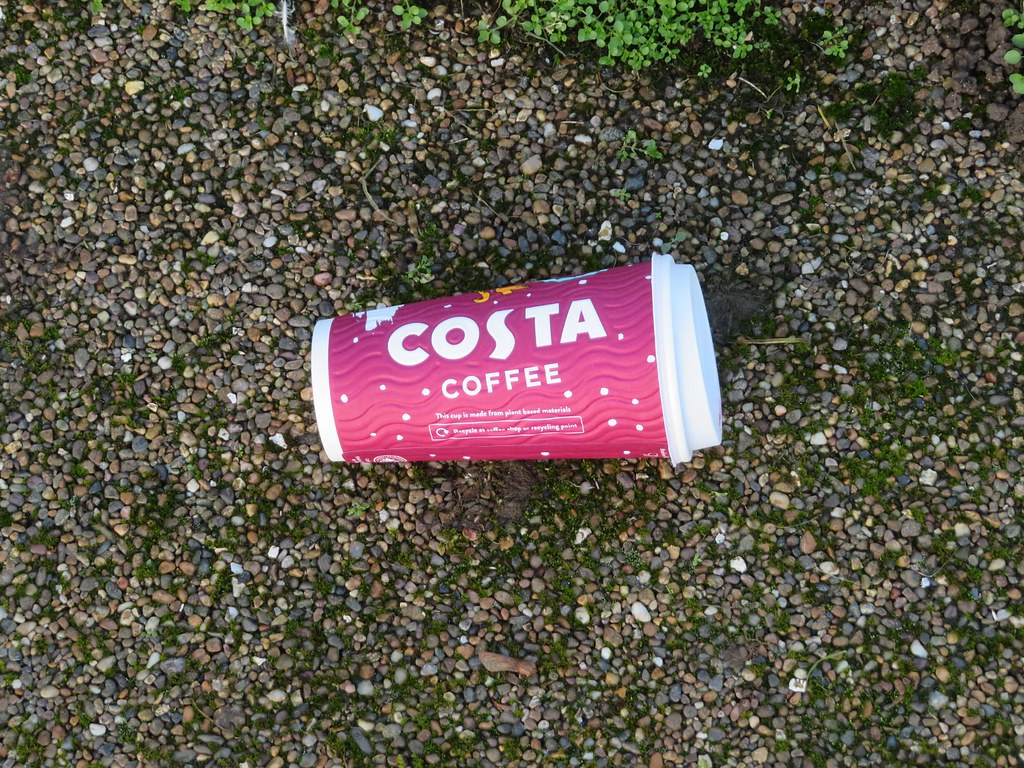 Costa Coffee Litter Sensory Garden Oakham Castle New Funded by Lottery Heritage Fund Oakham Rutland