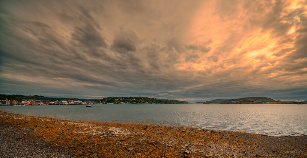 Oban Bay, Scotland.