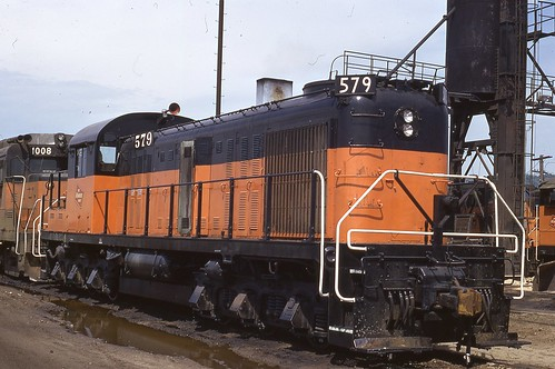 579, a GP-30, and a fractional Baldwin at Pig's Eye yard in St. Paul