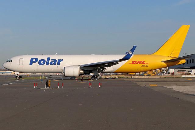 N643GT | Boeing 767-3JHFER/W | Polar Air Cargo / DHL