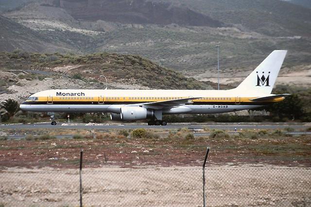 G-MONB B757 Monarch Tenerife Sur 18-04-2003